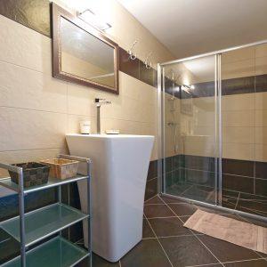 Gite La Grange : la douche