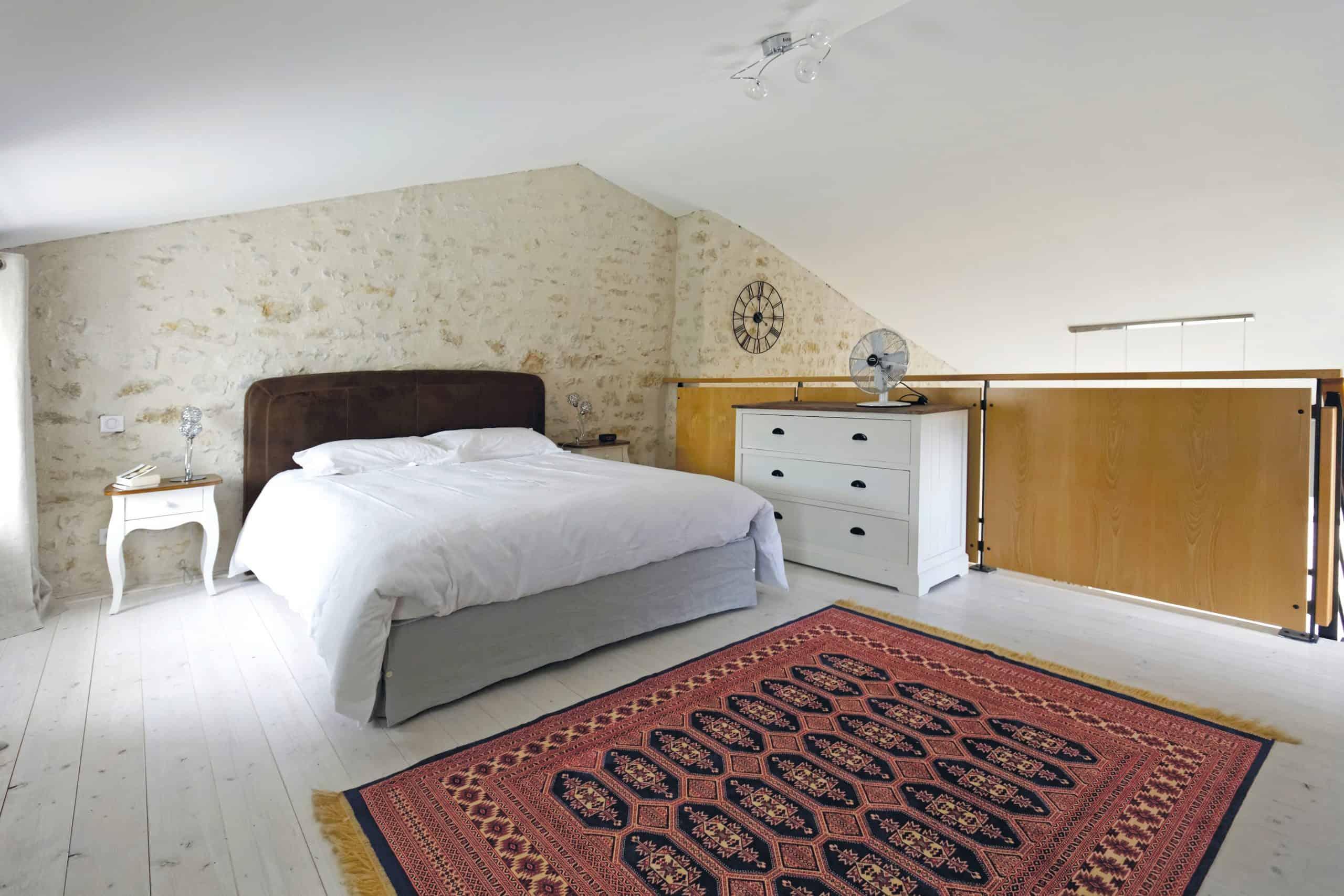 Gite La Grange : la chambre