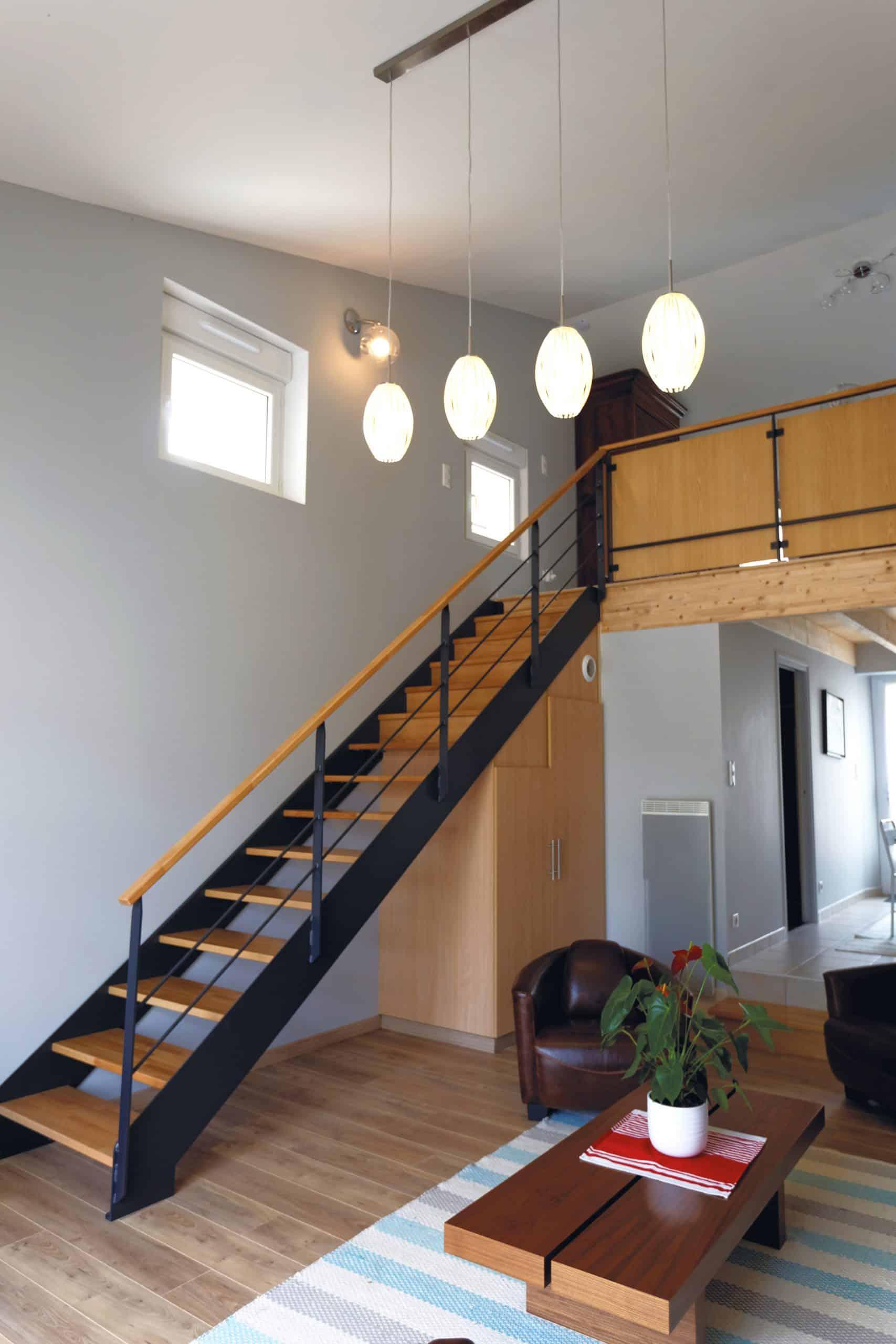 Gite La Grange : escalier