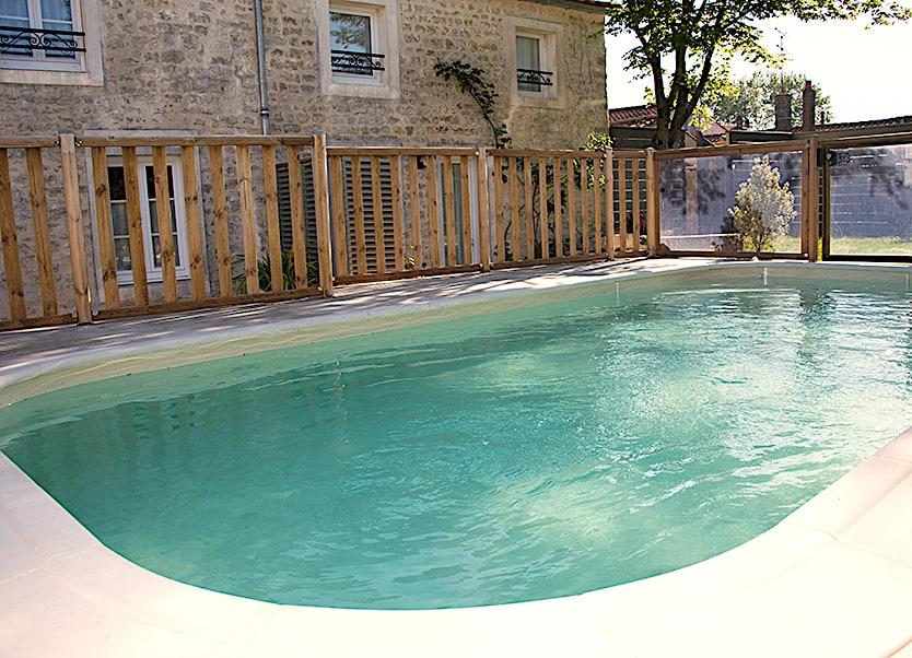 Une belle piscine familiale